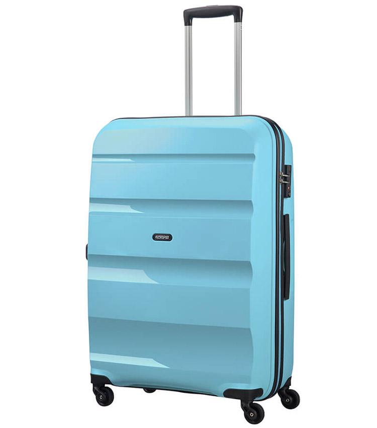 Средний чемодан American Tourister Bon Air Spinner 85A*62002 (66 см) Blue Topaz