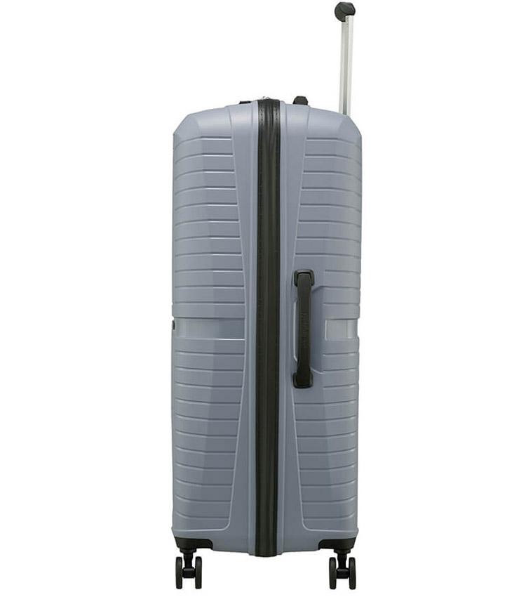 Большой чемодан American Tourister Airconic 88G*08003 (77 см) - Cool Grey