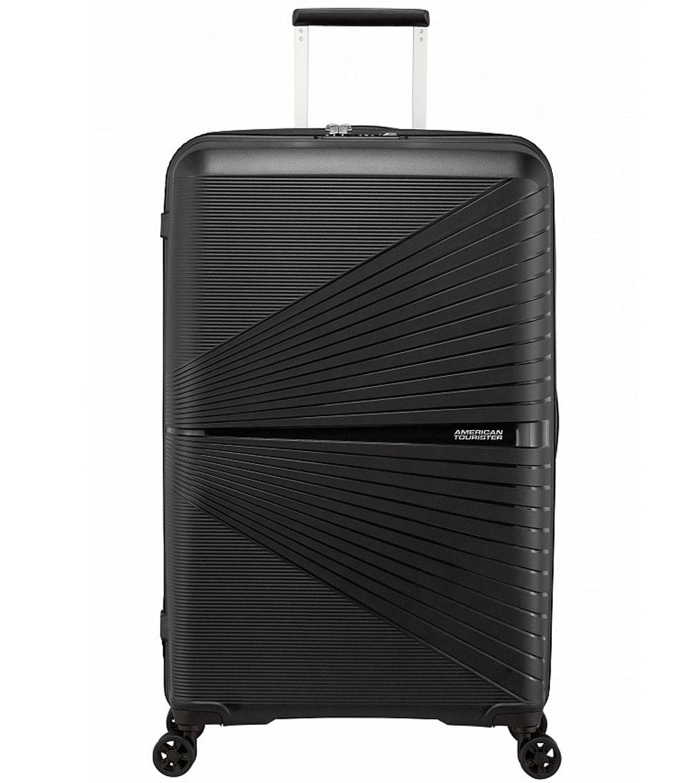 Большой чемодан American Tourister Airconic 88G*09003 (77 см) - Onyx black