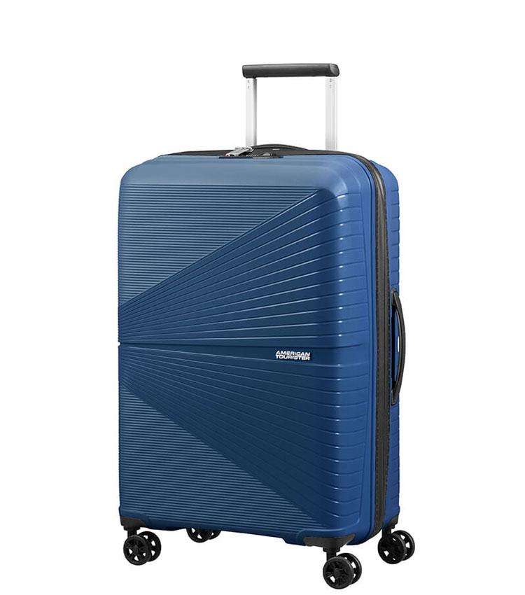 Средний чемодан American Tourister AIRCONIC 88G*41002 (67 см) - Midnight Navy
