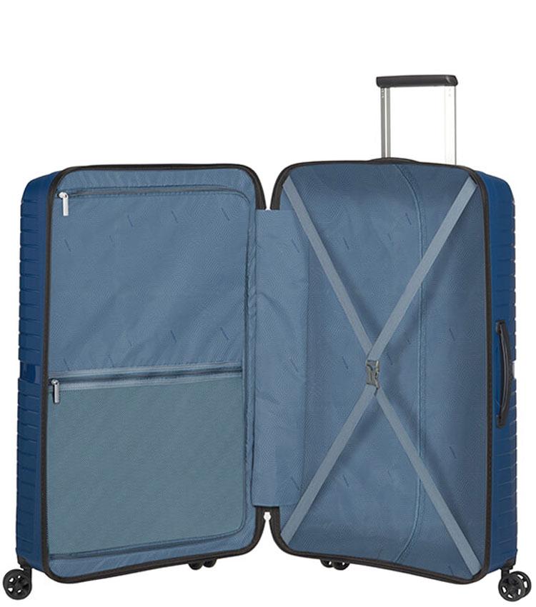 Большой чемодан American Tourister AIRCONIC 88G*41003 (77 см) - Midnight Navy