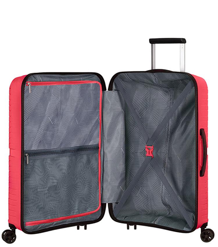 Средний чемодан American Tourister AIRCONIC 88G*90002 (67 см) - Paradise Pink
