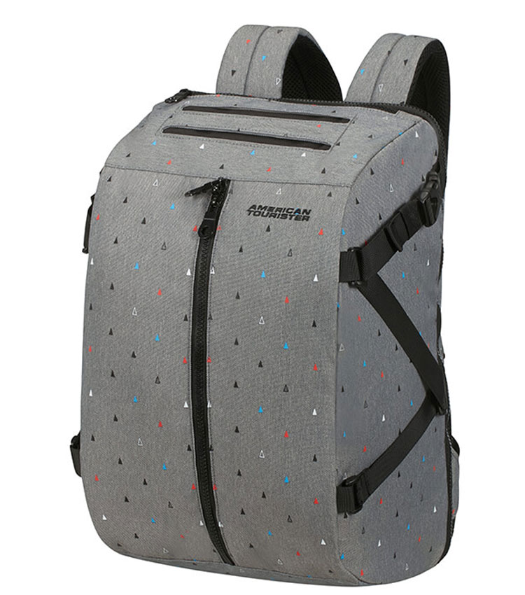 Рюкзак American Tourister TAKE2CABIN 14.1 91G*92002 - Triangle Print/Black