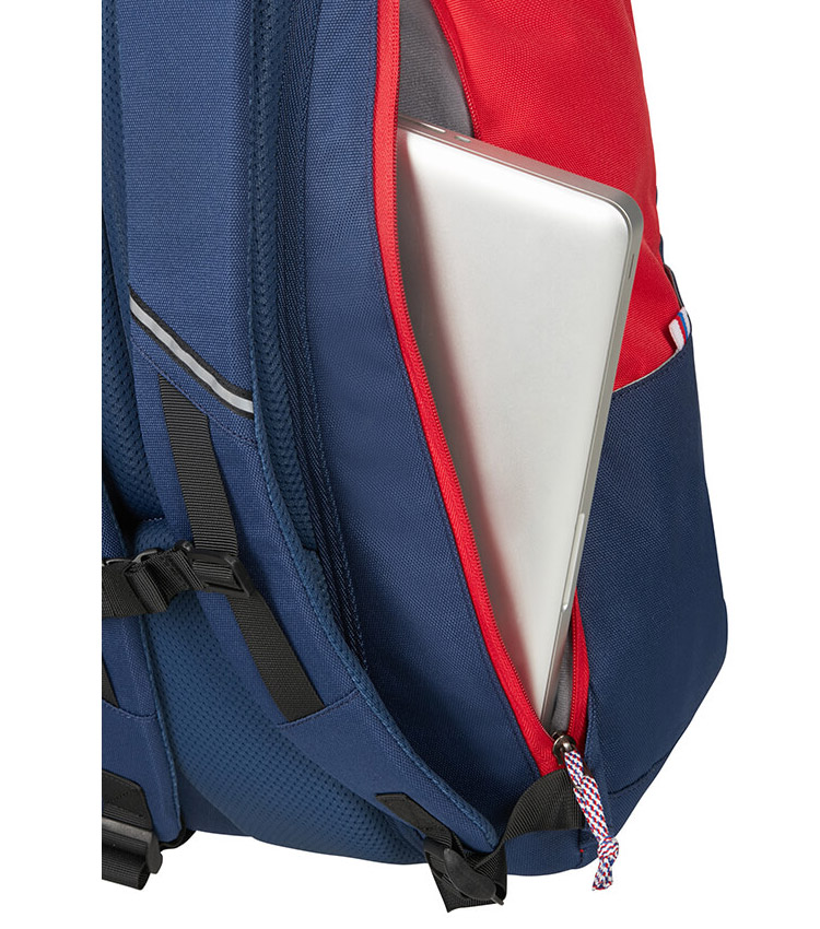 Рюкзак AMERICAN TOURISTER 14.1 UpBeat 93G*11004 - 	Blue/Red