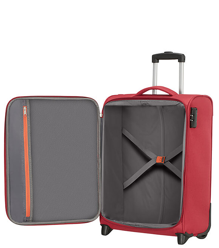 Малый чемодан American Tourister Heat Wave 95G*00001 (55 см) - Brick Red ~ручная кладь~