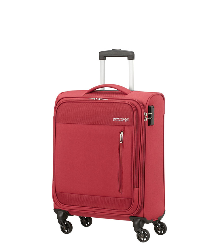 Малый чемодан American Tourister Heat Wave 95G*00002 (55 см) - Brick Red ~ручная кладь~