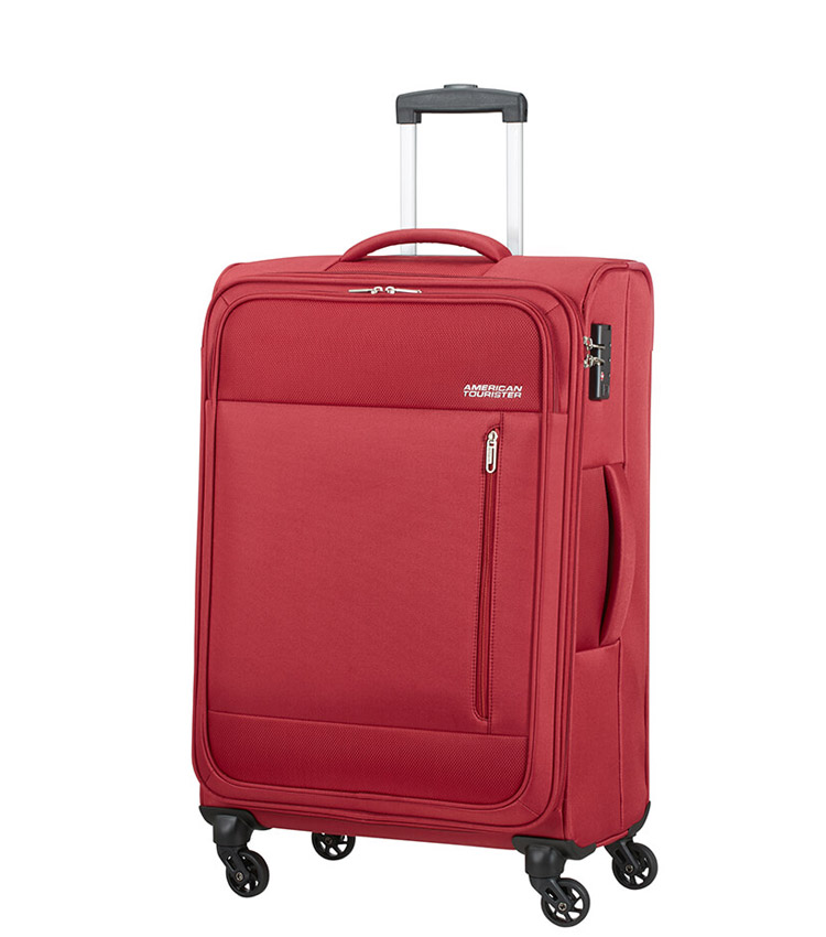 Средний чемодан American Tourister Heat Wave 95G*00003 (68 см) - Brick Red