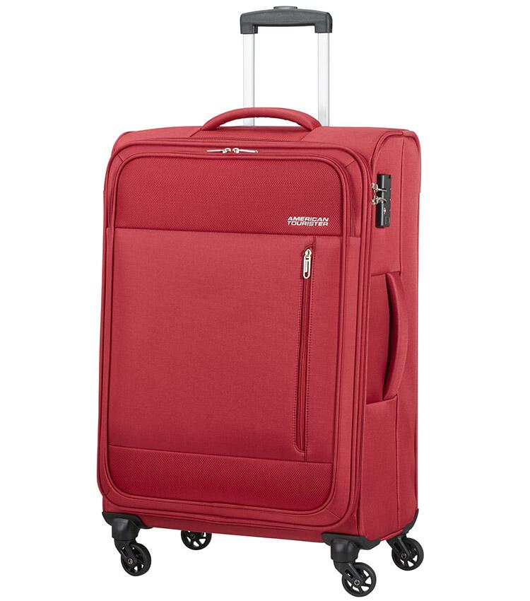 Большой чемодан American Tourister Heat Wave 95G*00004 (80 см) - Brick Red