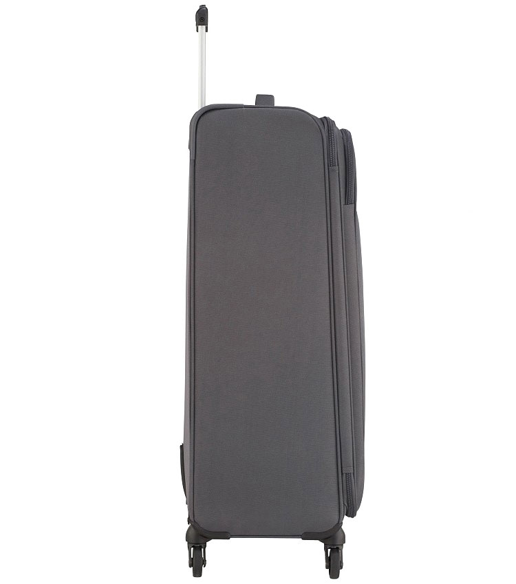 Большой чемодан American Tourister Heat Wave 95G*08004 (80 см) Charcoal grey