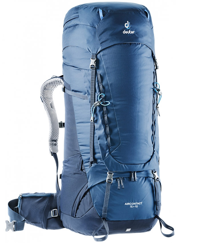 Туристический рюкзак Deuter Aircontact 75+10 midnight-navy