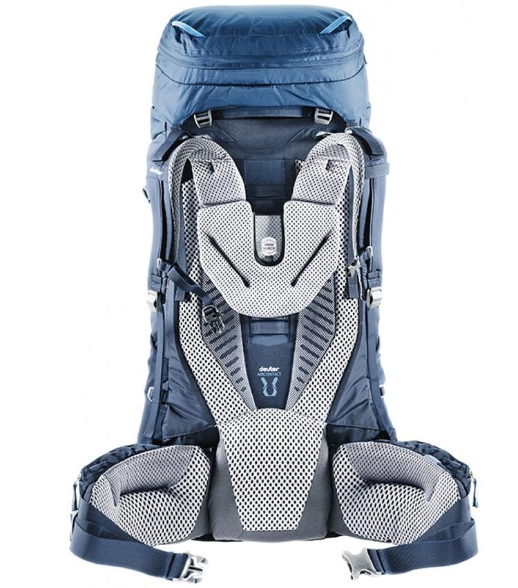 Туристический рюкзак Deuter Aircontact 65+10 khaki-navy