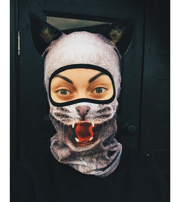 Балаклава PRIMO Beast Grey-Cat