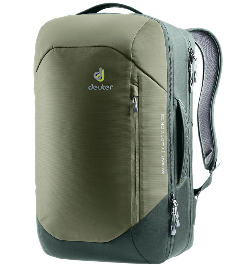 Рюкзак Deuter Aviant Carry On 28 khaki-ivy ~ручная кладь~