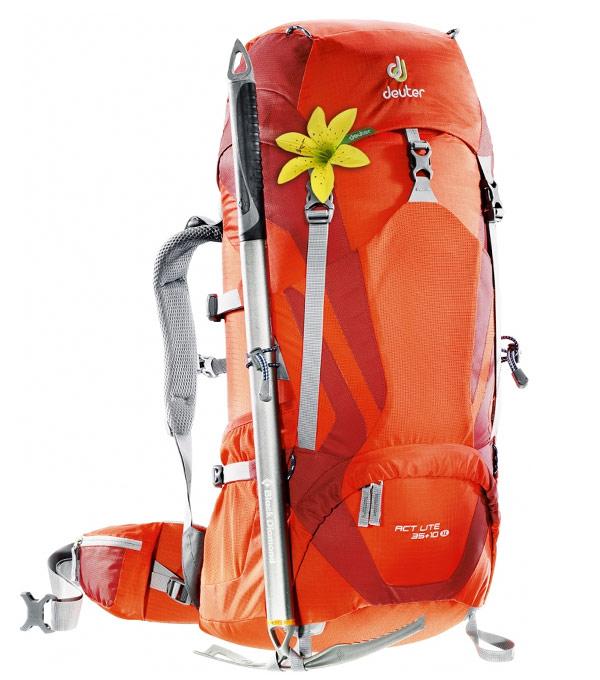 Туристический рюкзак Deuter ACT Lite 50+10 spring-granite