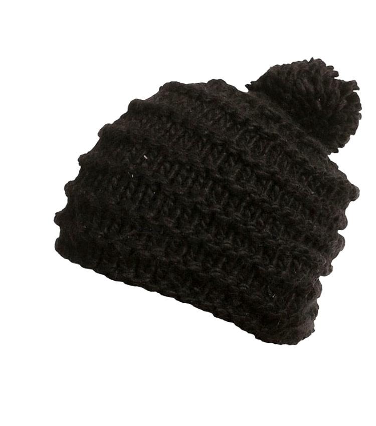Шапка женская Alpine pro CAMAEL black