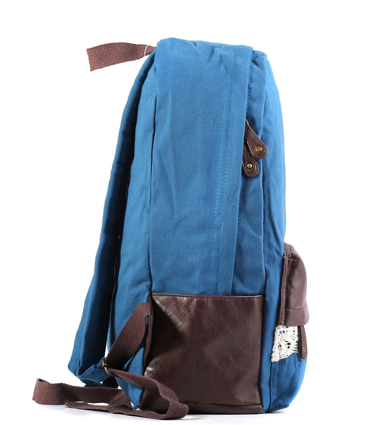 Женский рюкзак Bonjour Laces blue