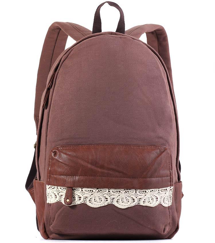 Женский рюкзак Bonjour Laces brown