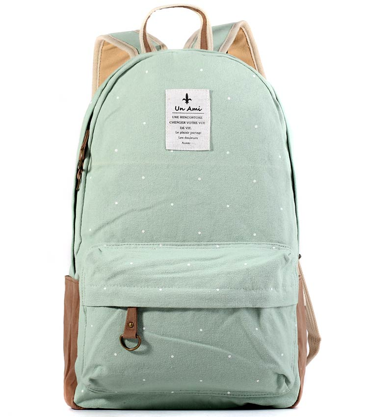 Женский рюкзак Bonjour Un Ami mint