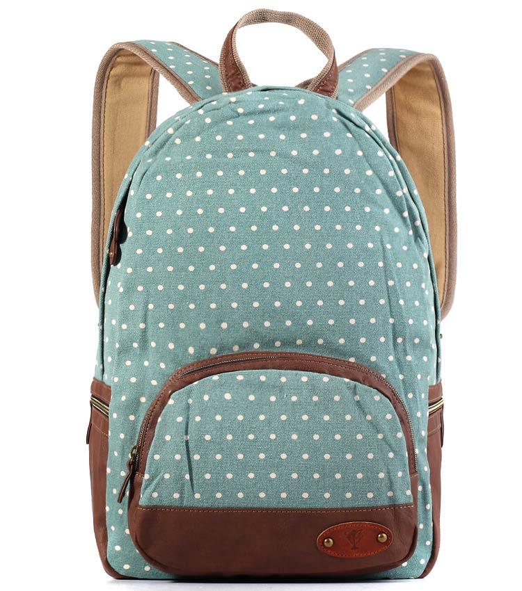 Женский рюкзак Bonjour Dots-md mint