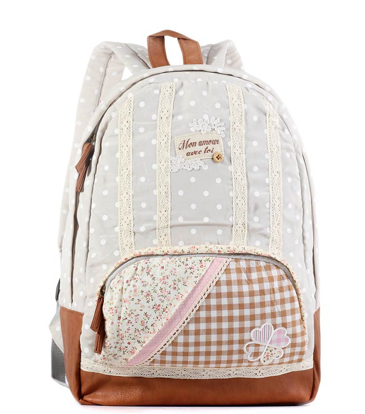 Женский рюкзак Bonjour Mon Amour pastel 478c34742b5