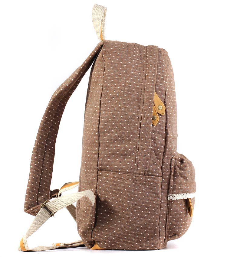 Женский рюкзак Bonjour Romantic brown