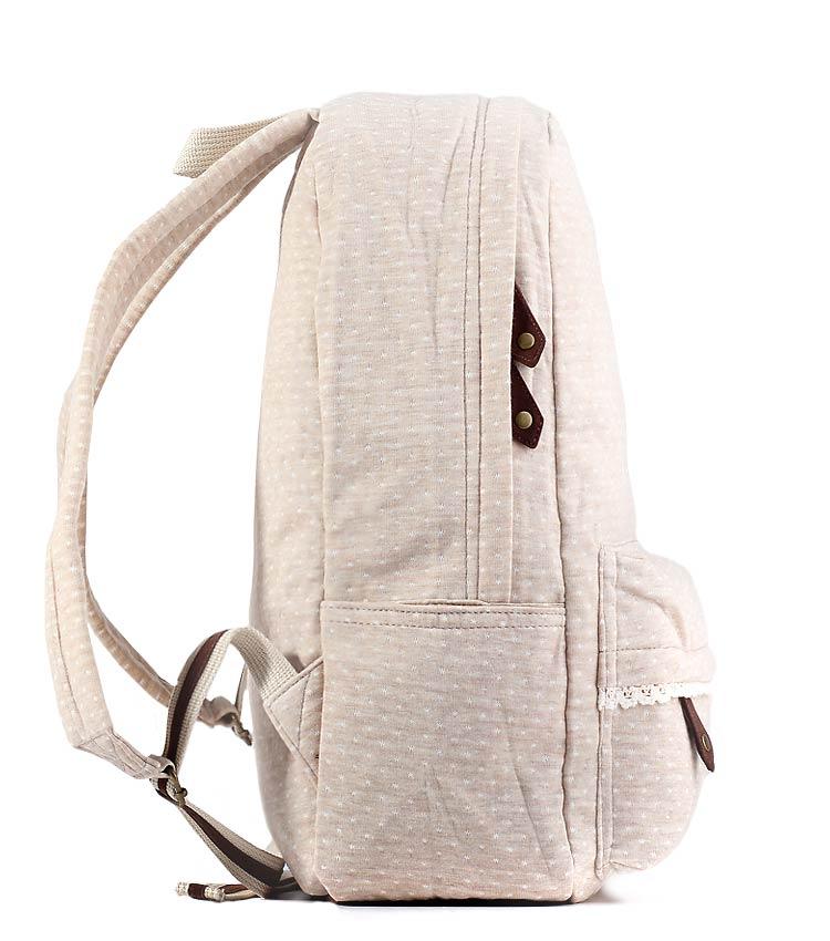 Женский рюкзак Bonjour Romantic cream