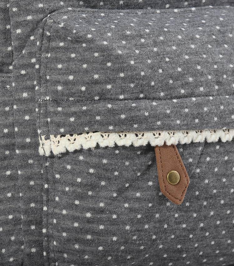 Женский рюкзак Bonjour Romantic gray