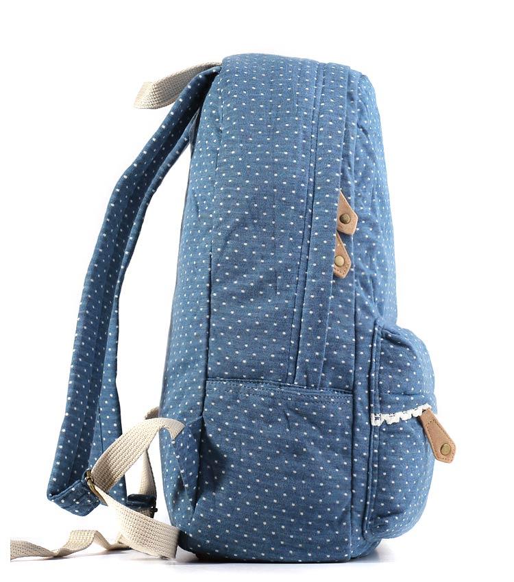 Женский рюкзак Bonjour Romantic teal