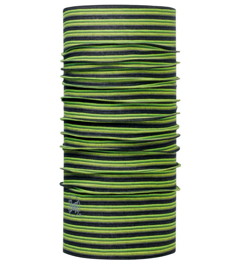 Бандана Buff Original Stripes Yellow Fluor