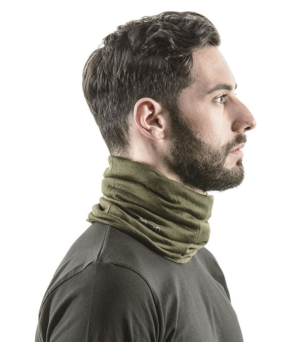 Шарф-бандана Buff Merino Wool solid grey