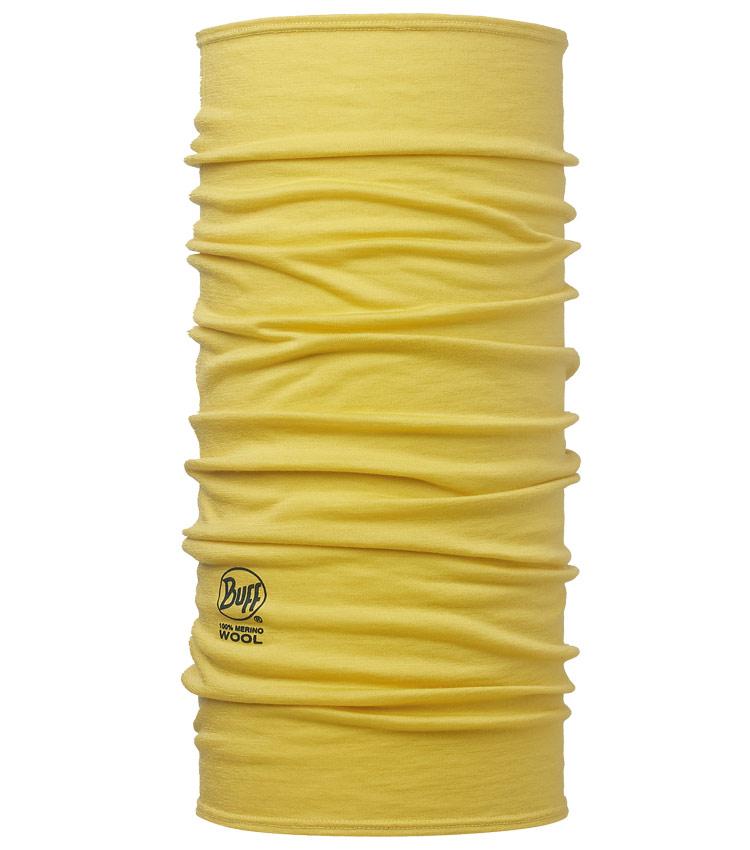 Шарф-бандана Buff Wool Solid Ocher