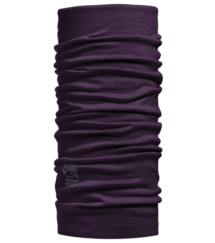 Шарф-бандана Buff Merino Wool solid Plum