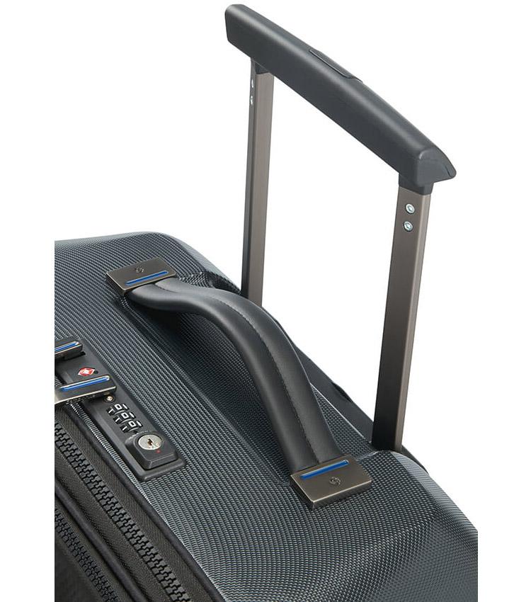 Чемодан на колесах Samsonite Zigo CH9*09001 (55 см) - black ~Ручная кладь~