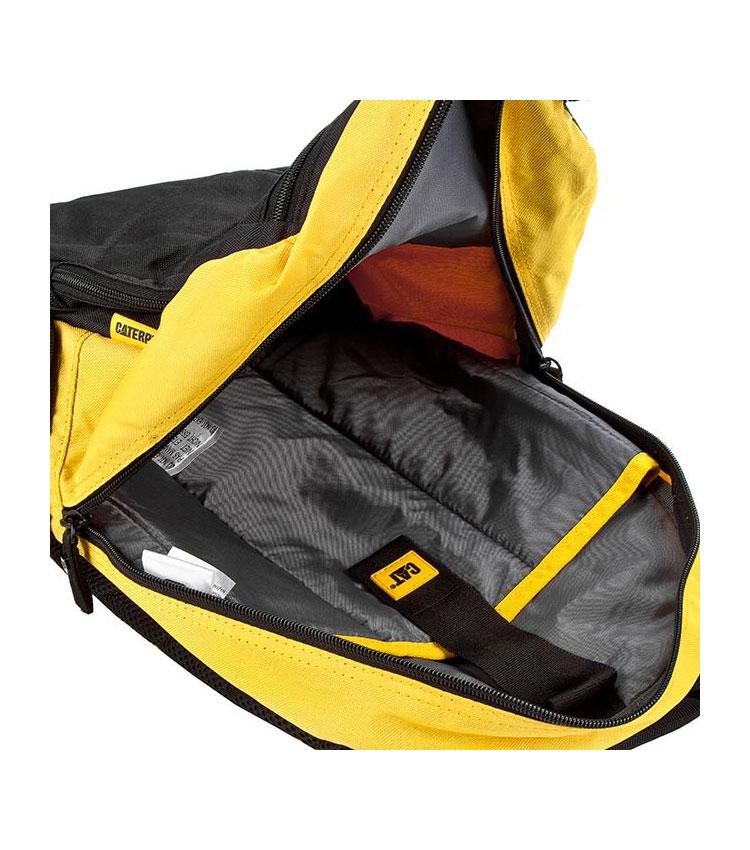 Рюкзак Caterpillar Brandon (80012) black-yellow