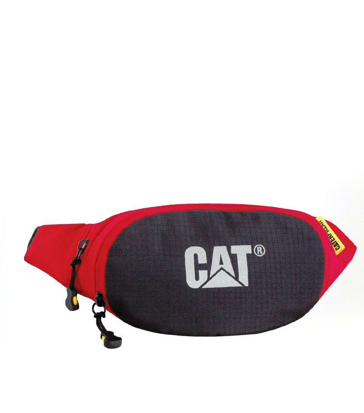 Сумка на пояс Caterpillar Lava black-red (82562)