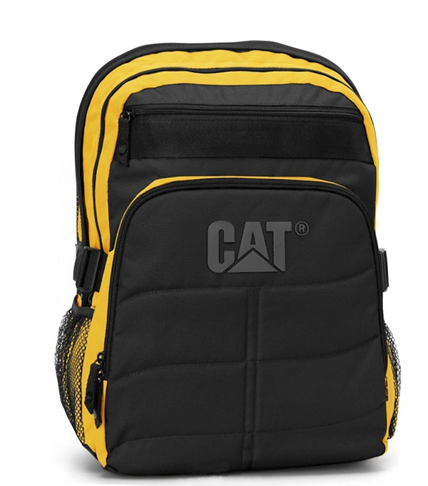 Рюкзак Caterpillar Millennial Brent (80013) black-yellow