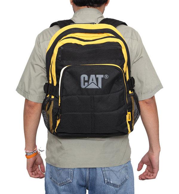 Рюкзак Caterpillar Millennial Brent (80013) black-yellow