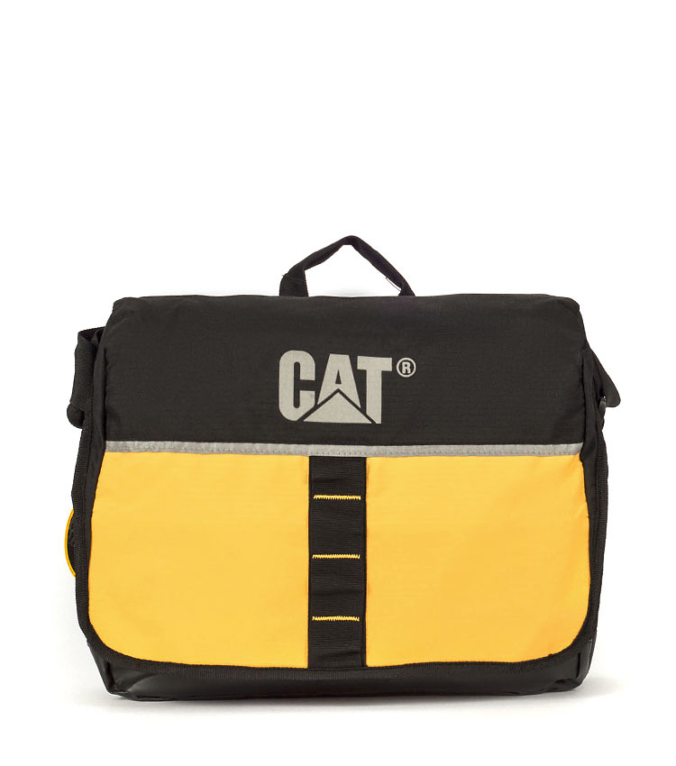 Сумка Caterpillar Zinc black-yellow (82561)