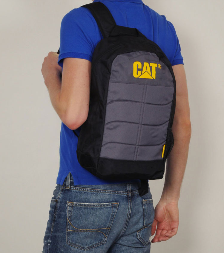 Рюкзак Caterpillar Benji 18L grey-cell