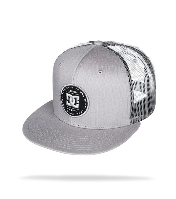Бейсболка DC Shoes Everyday grey