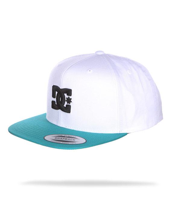 Бейсболка DC Shoes Snappy white-mint