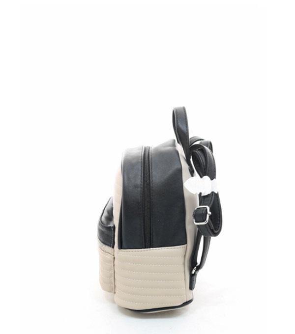 Женский рюкзак David Jones 3799 biege-black