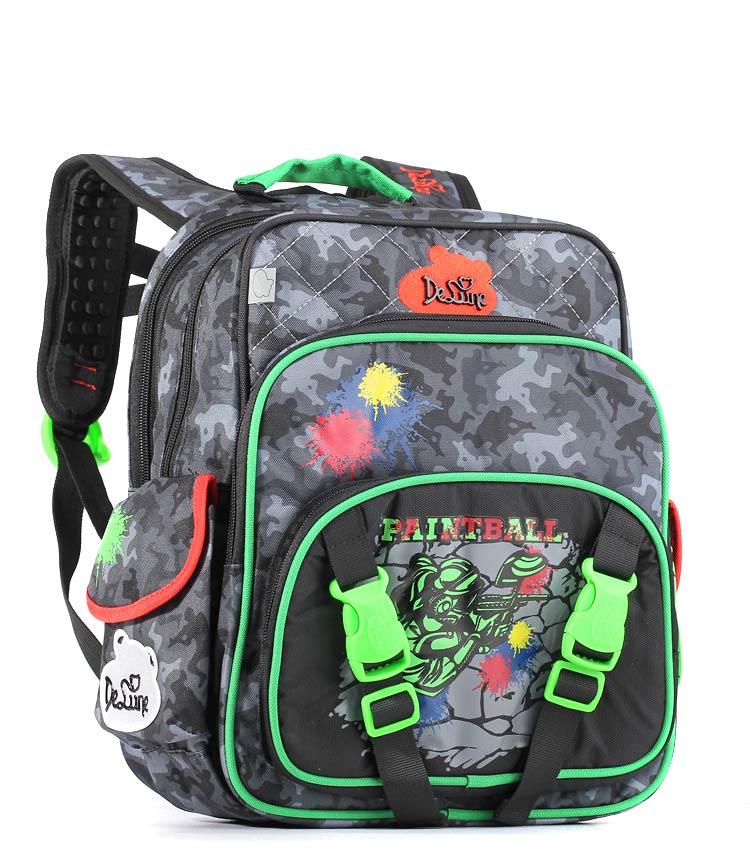 Школьный рюкзак DeLune 55-06 green