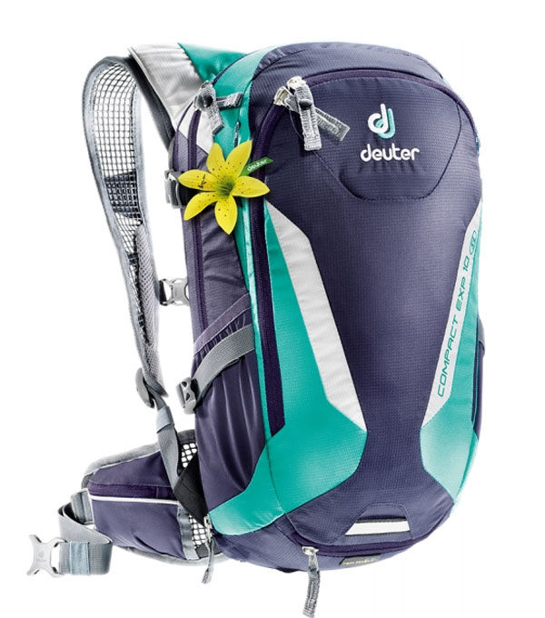 Велорюкзак Deuter Compact EXP 10 SL blueberry-mint