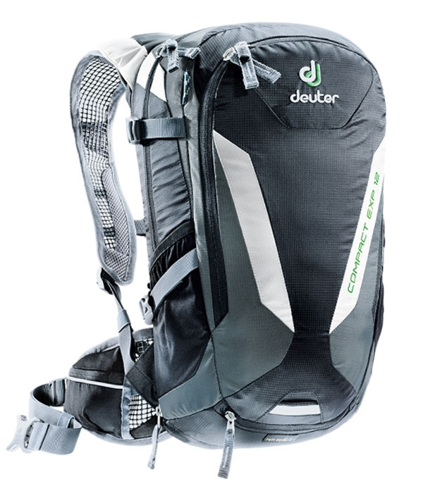 Велорюкзак Deuter Compact EXP 12 black granite