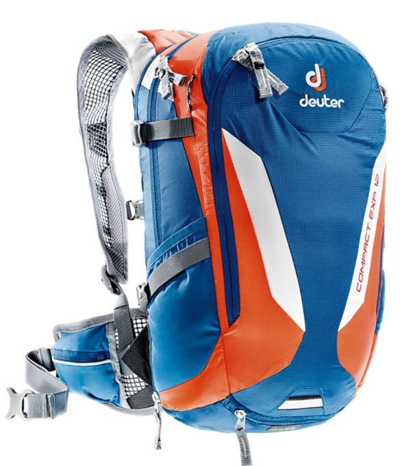 Велорюкзак Deuter Compact EXP 12 steel-papaya