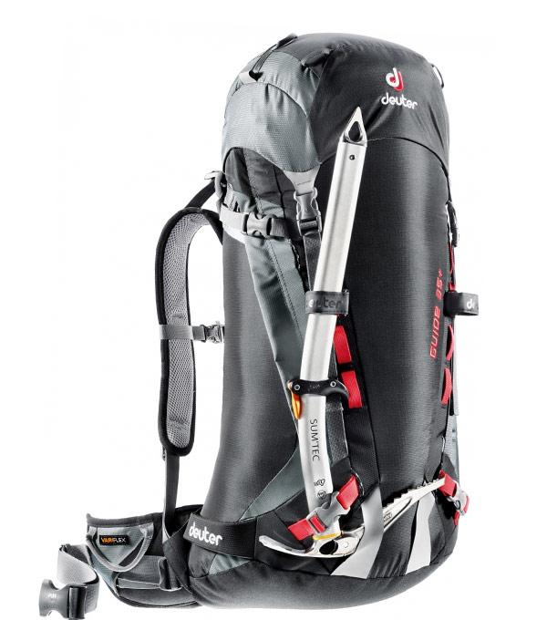 Туристический рюкзак Deuter Guide 35+ black-titan