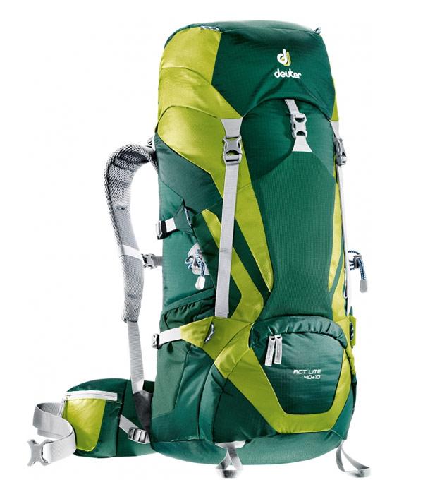 Туристический рюкзак Deuter ACT Lite 40+10 forest-moss