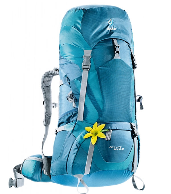 Туристический рюкзак Deuter ACT Lite 60+10SL arctic-denim