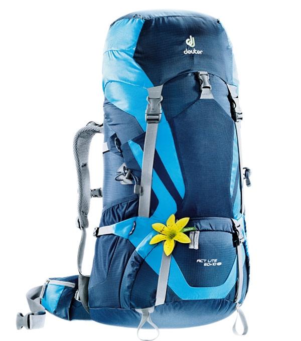 Туристический рюкзак Deuter ACT Lite 60+10SL m-turquoise